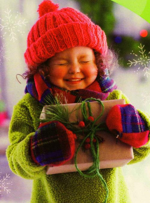Подарок ребенок новый год