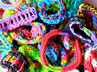 Браслеты из резиночек Rainbow Loom