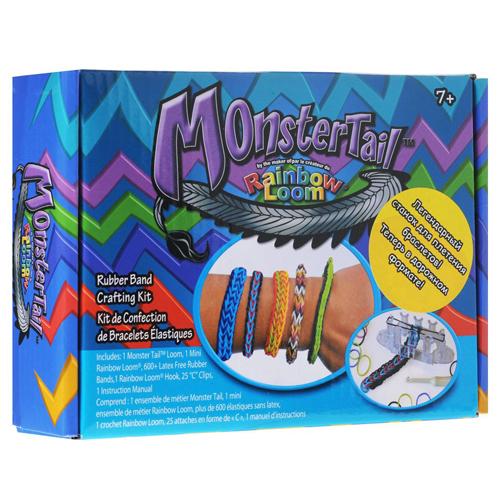 "Набор для плетения браслетов Rainbow Loom ""Monster Tail"""